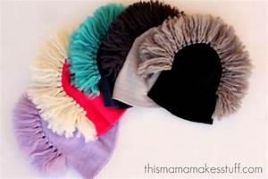Tutorial: Semi-homemade Mohawk Beanie Cap {no knitting ...