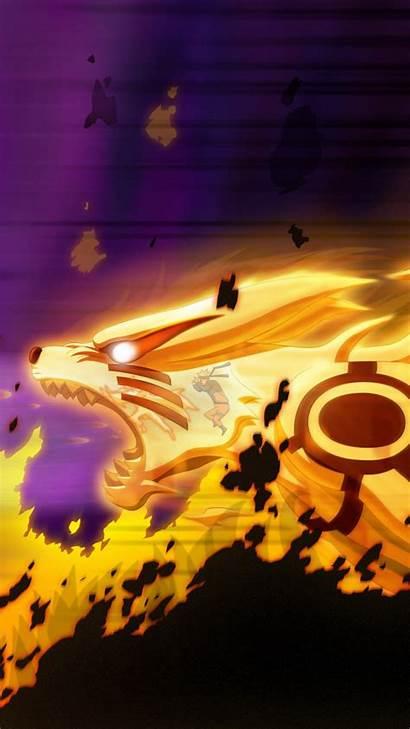 Iphone Wallpapers Naruto Phone Backgrounds Pixelstalk Kyuubi