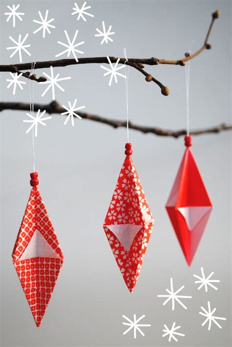 fun  creative diy christmas origami