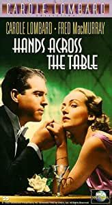 Amazon.com: Hands Across the Table [VHS]: Carole Lombard ...