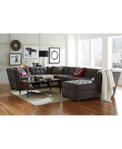 roxanne fabric modular living room furniture collection