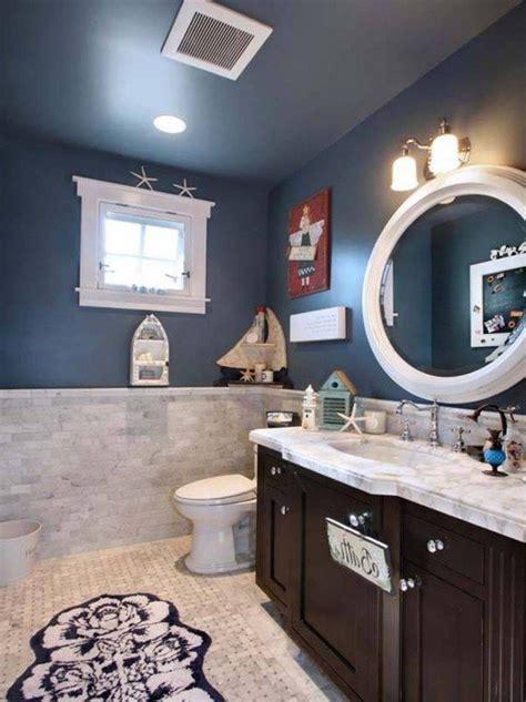 les 25 meilleures id 233 es concernant salle de bains 192 th 232 me nautique sur salle de