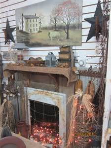 Primitive Decorating Ideas For Fireplace by 269 Best The Primitive Mantle Ideas Images On