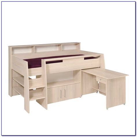 Hochbett Mit Sofa Und Schreibtisch by Hochbett Mit Schreibtisch Und Sofa Installation Hochbett