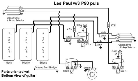 les paul 3 wiring diagram wikie cloud design ideas