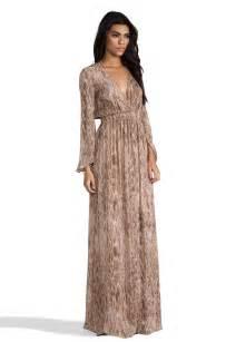 Fancy Long Sleeve Maxi Dress