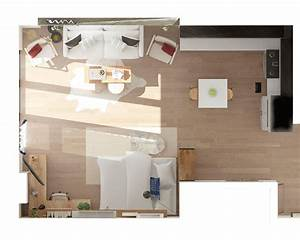 Best, Studio, Apartment, Layout, Ideas, 2, Ways, To, Arrange, A, Square, Studio