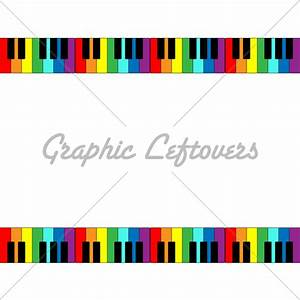 Keyboard Border In Rainbo. | Clipart Panda - Free Clipart ...