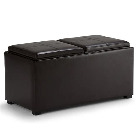 simpli home storage ottoman simpli home storage ottoman review