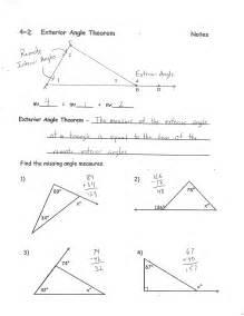 Find Missing Angles Worksheet Find The Missing Angle Worksheet Fioradesignstudio