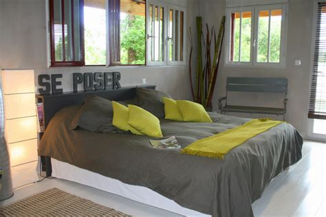 chambre jaune et gris la suite parentale photo 1 5 3507589