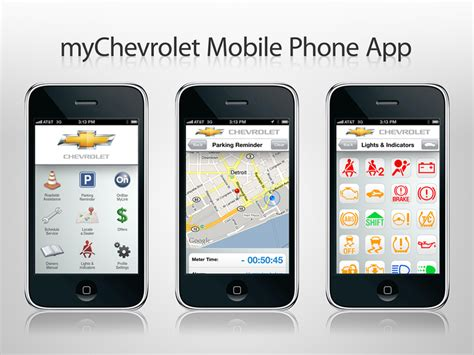 Chevy Unleashes Mychevrolet, Onstar Mylink Apps For Iphone