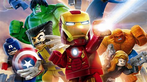 Lego Marvel's Avengers Wallpapers in Ultra HD   4K - Gameranx