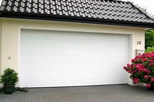 achat d39une porte de garage enroulable en aluminium pas With porte de garage enroulable et portail sur mesure pas cher