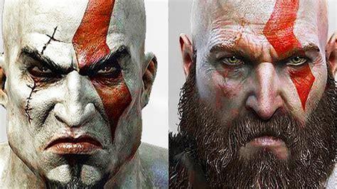 God Of War Evolution Of Kratos God Of War 2005 To 2018