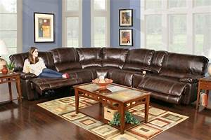 Leathaire 6 piece power reclining sectional home for Raphael contemporary sectional sofa