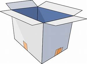 3d Empty Open Box Clip Art Free Vector In Open Office Drawing Svg    Svg   Vector Illustration