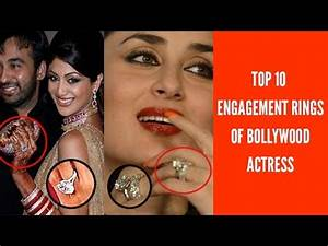 Most Expensive Bollywood Celebrity Engagement Rings - YouTube
