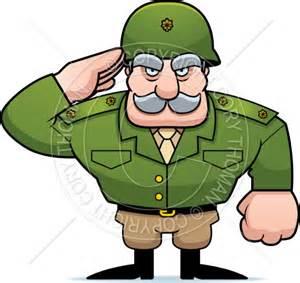 Military Cartoon Clip Art