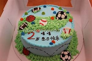 Ruby's Bakery球类生日蛋糕(Ball birthday cakes) - Ruby's Bakery