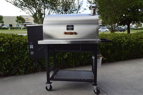 laura report pitts spitts wood pellet smoker  grill