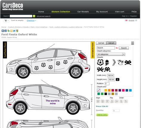 car design software sticker designer software