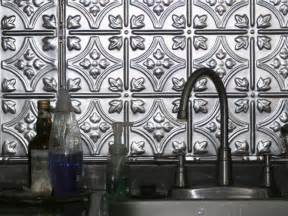 metallic kitchen backsplash tin backsplashes hgtv