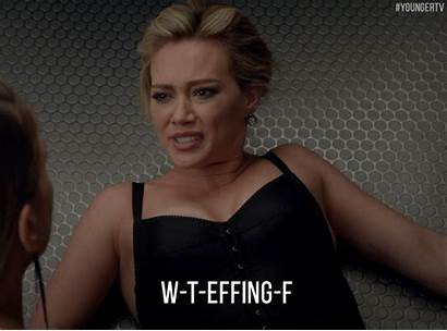 Duff Hilary Younger Angry Drunk Gifs Tv