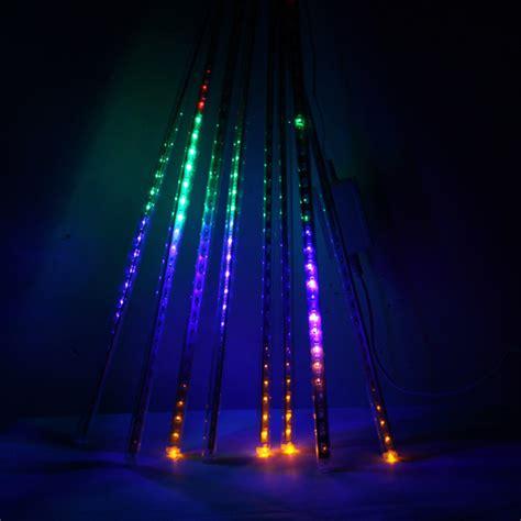buy led waterproof snowfall meteor light christmas lights