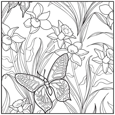 garden coloring pages coloringsuite com