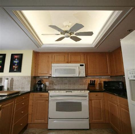 Ideas For Low Ceilings Kitchen Ceiling Lighting  Home