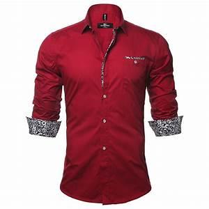 Tendance Mode Homme : chemise homme mode tendance fashion rouge pc0016 f ~ Preciouscoupons.com Idées de Décoration