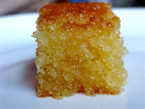 cuisiner semoule basboosa soudan gâteau de semoule au sirop la