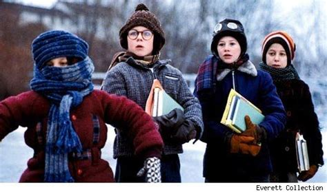 A christmas story is a 1983 film, set in the 1940s, about a boy who has to convince his parents, teachers, and santa that a red ryder bb gun really is the perfect christmas gift. I can't put my arms down!... (Randy Parker) ...... A Christmas Story | Christmas story movie ...