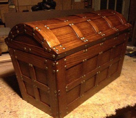treasure chest wooden chest wood chest wood projects
