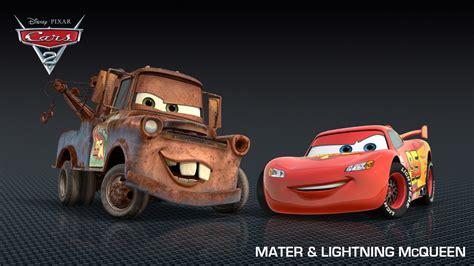 Disney Pixar Cars Wallpaper Free by Mater Lightning Mcqueen Disney Pixar Cars 2 Free Hd Wallpaper