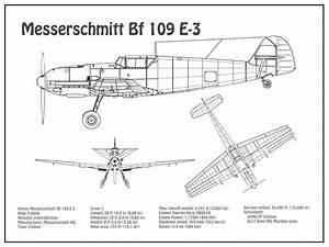Messerschmitt Bf 109f4r3 Plans