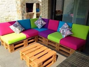 Sofa Für Balkon : colored sofa f r die terrasse 1 balkon pinterest ~ Pilothousefishingboats.com Haus und Dekorationen