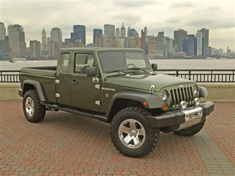 jeep truck 2018 2018 jeep gladiator pickup truck price and release date