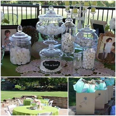 Shower Bridal Chic Shabby Candy Mason Jars