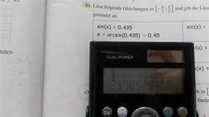 Arccos Berechnen : arkussinus habe problem mit taschenrechner arcsin zu berechnen mathelounge ~ Themetempest.com Abrechnung