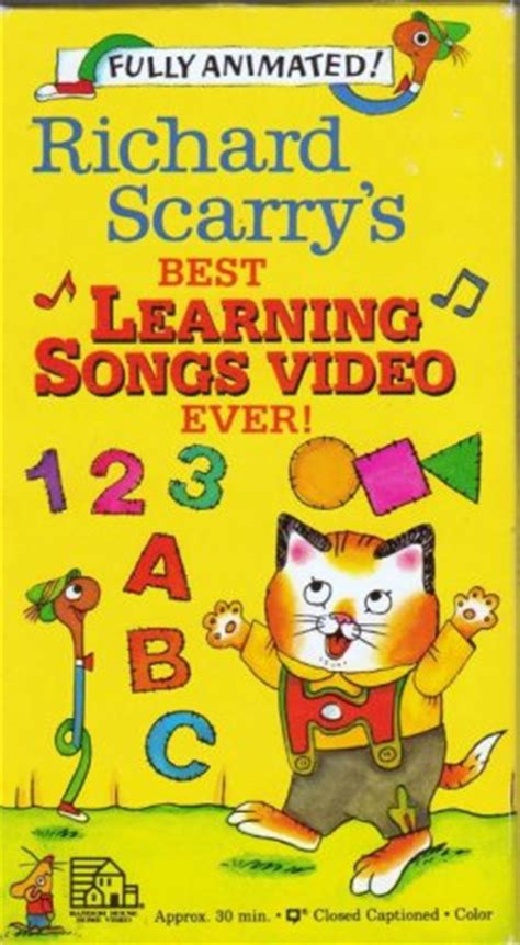 Richard Scarry's Best Learning Songs Video Ever  The Busy