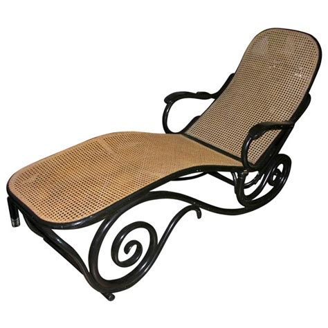 thonet chaise antique thonet chaise longue at 1stdibs