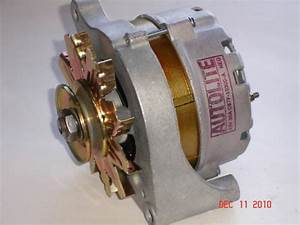 1968 Ford Mustang Autolite C6tf10300a 38amp Alternator 390