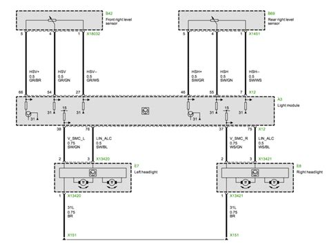 Bmw X5 Headlight Wiring Diagram by Bmw X5 Air Suspension Wiring Diagram