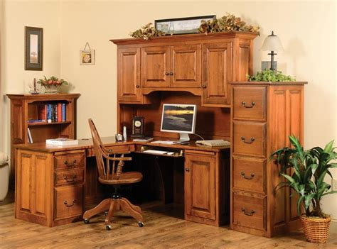 corner executive desk  hutch town country furniture