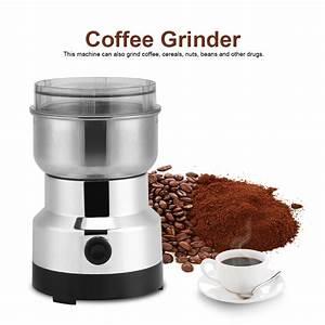 Machine À Moudre Le Café : moulin caf lectrique acier inoxydable coffee grinder ~ Melissatoandfro.com Idées de Décoration