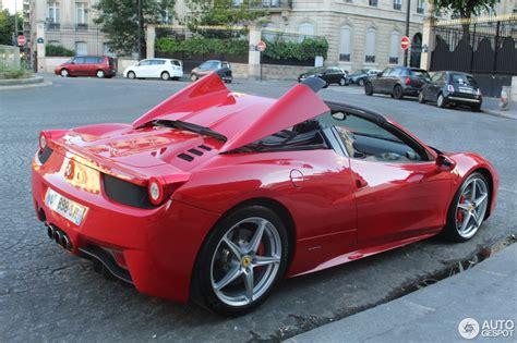 Ferrari 458 Spider  28 September 2016 Autogespot