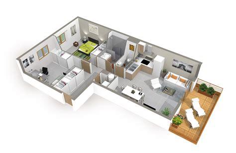 plan de chambre 3d plan de maison 3d onetosix