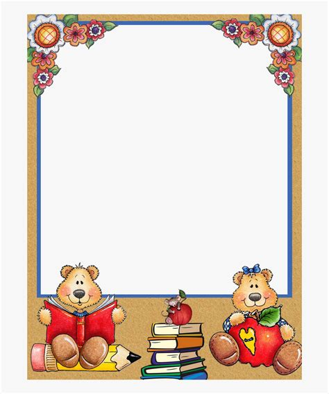 library  writing border clip art freeuse stock png files